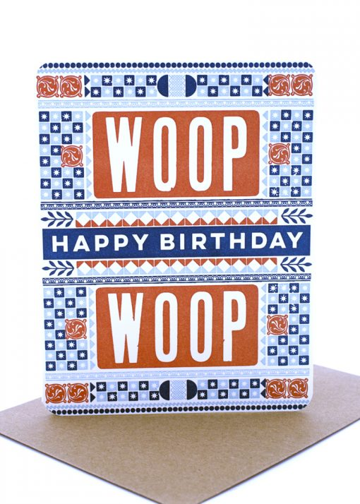 Woop Woop birthday card